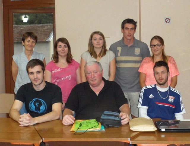 Nouveau bureau du Handball Club Lamastrois