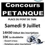 concours pétanque 2016