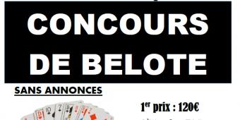 affiche concours belote 2017