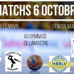 match du 6 octobre